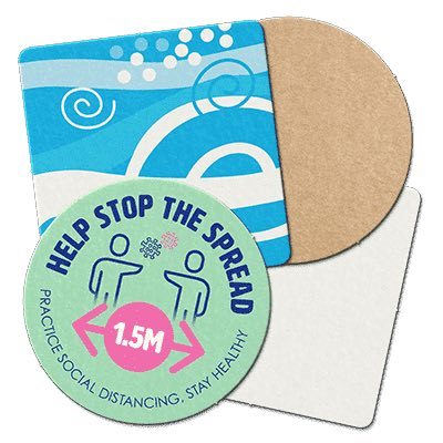 Stock Drink Coasters by Coaster Kings